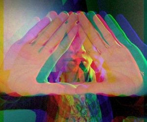 triangle, hipster, and 3d image