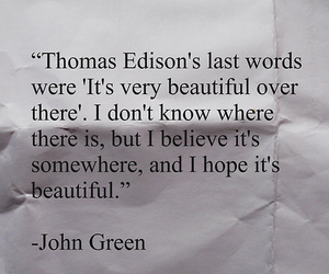 john green, looking for alaska, and beautiful image