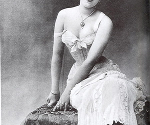 corset, victorian, and vintage image