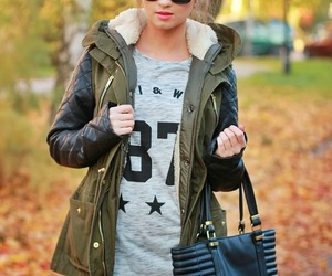 beautiful girl, beauty, and clothing image