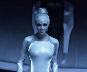 b&w, cyberpunk, and futuristic image