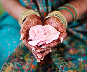 blue, shaadi, and pakistani bride image