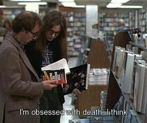 annie hall, caption, and death image