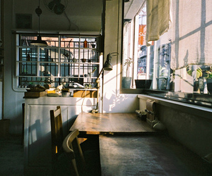 kitchen, photography, and vintage image