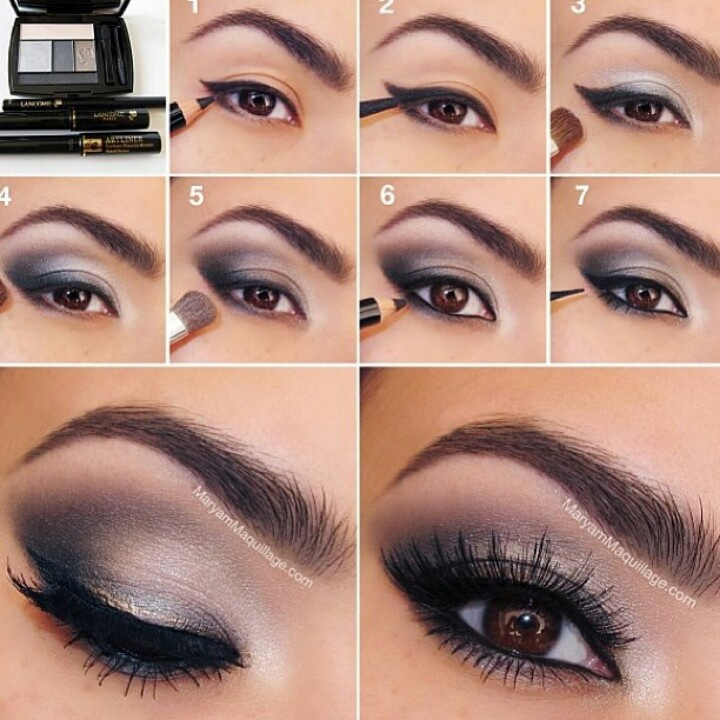 Step By Step Eye Makeup Tutorial For You Beautiful Shoes