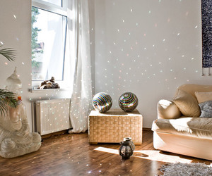 light, room, and beautiful image