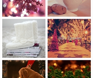 christmas, garlands, and gifts image