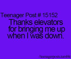 elevator, teenager post, and teenager posts image