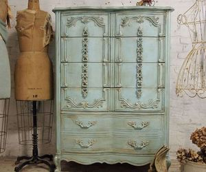 decor, furniture, and shabby chic image