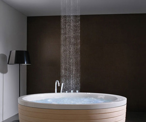 bath, home sweet home, and shower image