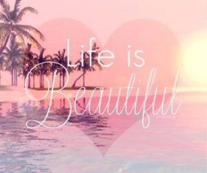 beautiful, life, and pink image