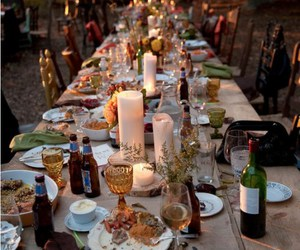 dinner, food, and party image
