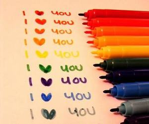 colores and love image
