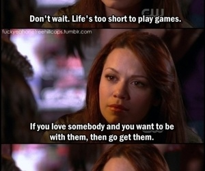 one tree hill, quotes, and haley image