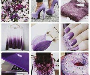 beautiful, girly, and purple image