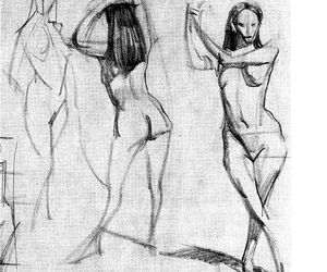 gesture, line, and pose image