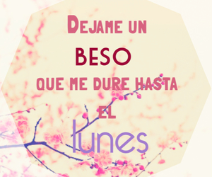 amor, cancion, and Besos image