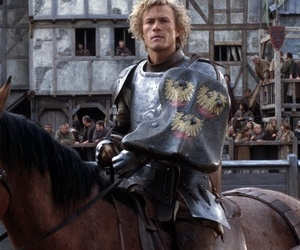 a knights tale, heath ledger, and love image