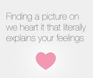we heart it, feelings, and picture image