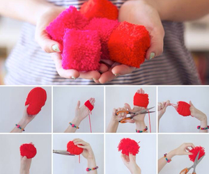 decoration, diy, and red image