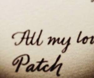 love, patch cipriano, and angel image