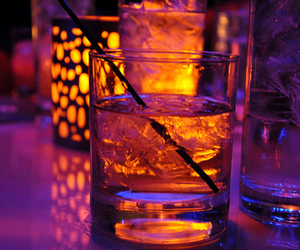 drink, alcohol, and light image