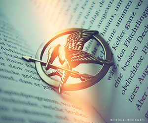 book, hunger games, and the hunger games image