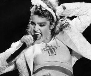 80's, madonna, and flashback image