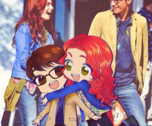 simon, the mortal instruments, and clary fray image