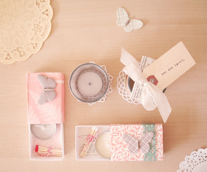candle, diy, and cute image