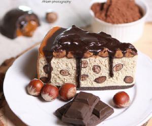 berries, chocolate, and cream image