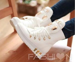 shoes, fashion, and golden image