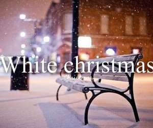 christmas, white, and snow image
