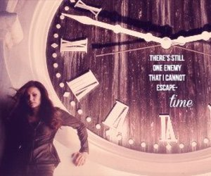 time, the vampire diaries, and katherine pierce image