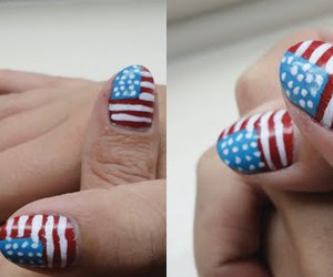 america, american, and nails image