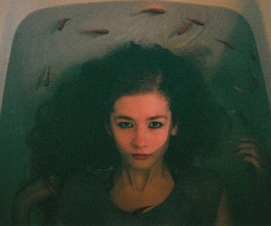 bath, indie, and fish image