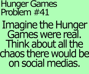 problems, hunger games, and catching fire image