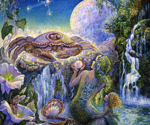 cancer, mermaid, and josephine wall image