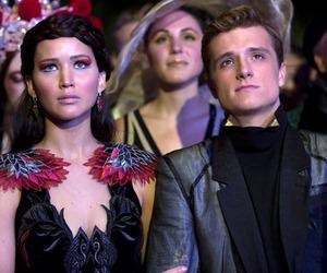 catching fire, katniss, and katniss everdeen image