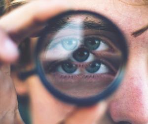 eyes, photography, and boy image