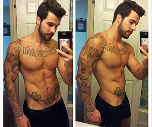 boy, sexy, and tattoo image