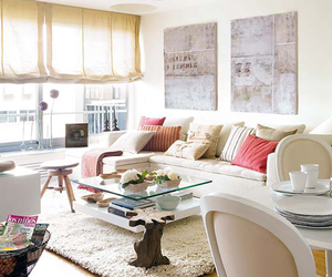 decor, living room, and room image