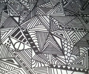 black&white, draw, and drawing image