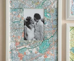 frame, map, and diy image