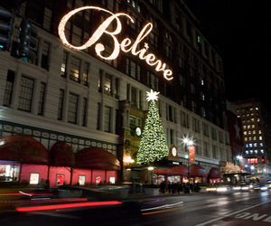 believe, lights, and street image