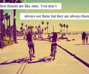 friends, best friends, and stars image