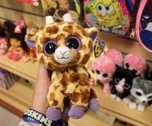 adorable, giraffe, and photography image