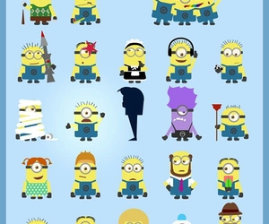 minions, despicable me, and cute image