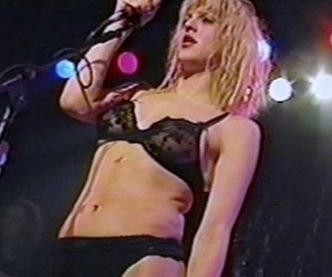 Courtney Love and hole image