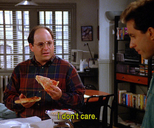 seinfeld and i don't care image